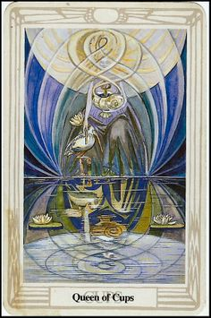 Aleister Crowley tarot (Book of Thoth) - Queen of Cups