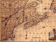 NS Early Explorers, Age Of Discovery, Old Maps, Vintage World Maps, Antique Maps, Old Cards