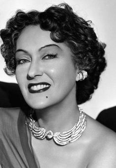 Portrait of Gloria Swanson in Sunset Boulevard 1950