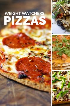 Surprised to find Weight Watchers Pizza recipes? Everyone loves pizza, and most people think being on Weight Watchers means you can't eat it. Not true! Healthy Pizza, Healthy Recipes, Skinny Recipes, Ww Recipes, Low Calorie Recipes, Pizza Recipes, Cooking Recipes, Healthy Eats, Skillet Recipes
