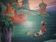 peter pan mural - Google Search