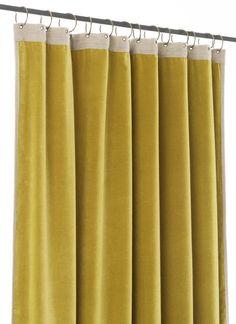 Champignon-en coton en velours pour rideaux et Soft Furnishings