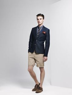 For everyone in high school that gave me grief for wearing blazers with shorts