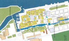 "Bo01 ""City of Tomorrow"" Swedish Housing Expo, Western Harbour Malmö. Klas Tham [Principal Exhibition Architect of Bo01], Arken Arkitekter, Stockholm."