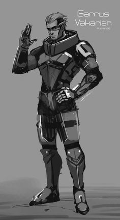 Garrus / Human version