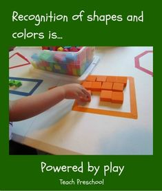 Shapes and Colors - Teach Preschool