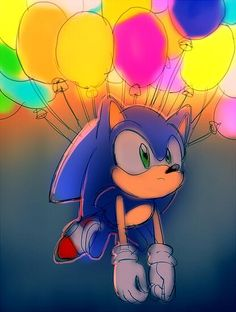 """Sonic: """"Well this could take a while."""""""