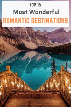 Get ready to explore the most romantic destinations (in no particular order!) an… Get ready to explore the most romantic destinations (in no particular order!) and spend some wonderful time. Honeymoon Getaways, Best Honeymoon Destinations, Romantic Destinations, Romantic Vacations, Romantic Travel, Dream Vacations, Honeymoon Places, Honeymoon Ideas, Romantic Weekend Getaways