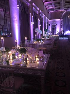 Breathtaking wedding at the Biltmore Hotel Miami with @Events by Francesca , Flowers and decor by Avant Gardens Miami, Linens: Leyani Inc, Lighting and Music: Sarz Entertainment, Luxe Event Rentals, Elements and Accents and Ohh My Sweetness. What a beautiful night!