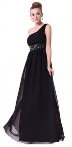 Ever Pretty Black One Shoulder Empire Line Sequins Padded Long Evening Gown 09770 Chiffon Evening Dresses, Long Evening Gowns, Chiffon Dress, Sequin Dress, Long Bridesmaid Dresses, Cheap Prom Dresses, Bridesmaids, Ladies Dresses, Prom Dress 2014