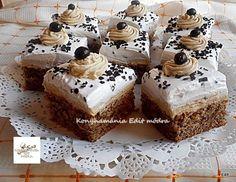 Bakacsók, ha van otthon egy kis dió, készülhet is ez a finomság! Hungarian Recipes, Recipies, Cheesecake, Paplan, Ouat, Dios, Mascarpone, Food Cakes, Recipes
