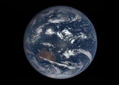Latest view of our beautiful blue marble, captured by DSCOVR spacecraft.  Australia looking all alone out there.