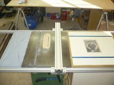 DIY table saw fence (extended length)