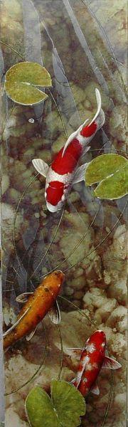 koi fish by Terry Gilecki