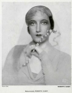 Roberte Chiusi. 1932:  by Baron Adolph de Meyer