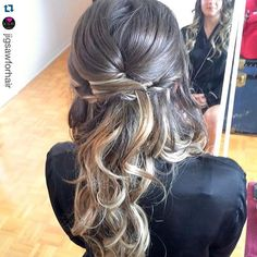 """#bridesmaid #updo by #stylesandthecity #yegstylist @tawshadawn #jigsawforhair #bridesmaidhair #updo #weddinghair"" Photo taken by @stylesandthecitybytawsha on Instagram, pinned via the InstaPin iOS App! http://www.instapinapp.com (07/25/2015)"