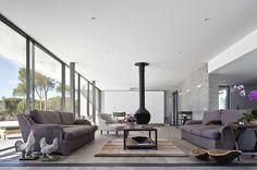 Casa na Comporta : Salas de estar modernas por RRJ Arquitectos