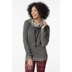 Heather charcoal scuba hoodie Charcoal, High Neck Dress, Hoodies, My Style, Sweaters, Outfits, Dresses, Fashion, Outfit