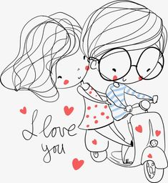 See a rich collection of Illustrations/Clip-Art images, photos or vectors for any project. Explore quality Illustrations/Clip-Art pictures, illustrations from top photographers. Couple Drawings, Love Drawings, Cartoon Drawings, Love Doodles, Love Anniversary, Cute Love Cartoons, Couple Cartoon, Love Cards, Cute Illustration