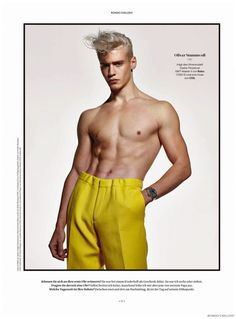 Oliver Stummvoll, Srdgan Rapo + More Go Shirtless in Trousers for Rondo Exklusiv image rondo Exklusiv 002 800x1082