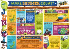 Make Summer Count: Here's a printable calendar of kids activities you can download from the Compassion Explorer website. (It will also be in the Summer print edition that mailed out yesterday!)
