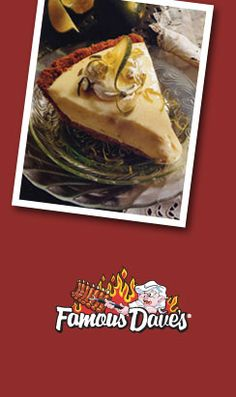 If this actually taste like Famous Dave's key lime pie then it's ON! Food Baby, Baby Food Recipes, Sweet Recipes, Cooking Recipes, Desserts To Make, Delicious Desserts, Keylime Pie Recipe, Copykat Recipes, Famous Daves