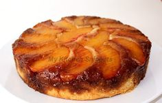 My Kitchen Snippets: Peach Upside Down Cake