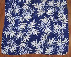 Vintage Japanese Fabric stamped Imperial by LeafpeopleVintage, $28.00