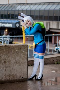 Fionna by *RayRayCosplay on deviantART | ConBravo 2013. View more EPIC cosplay at http://pinterest.com/SuburbanFandom/cosplay/...