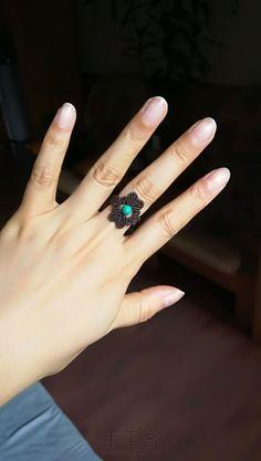 Macrame Bracelet Patterns, Macrame Rings, Macrame Jewelry, Macrame Bracelets, Ring Bracelet, Ring Earrings, Macrame Design, Macrame Tutorial, Diy Rings