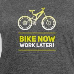 bike Fahrrad MTB neon Spruch Rad Rennrad bmx rad - Frauen Polycotton T-Shirt