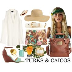 Summer Vacation: Turks & Caicos, created by janafran on Polyvore