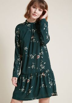 Always Invited Long Sleeve Dress