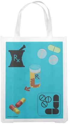 Pharmacy Student/Technician RX Tote  #ToteBag