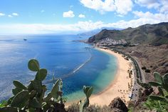 Photo about Playa de las Teresitas, Spain,Tenerife. Image of idyllic, hill, nature - 5055733 All Inclusive Urlaub, All Inclusive Cruises, Cheap Cruises, Tenerife, Centro Fitness, Winter Holiday Destinations, Cruise Holidays, Cruise Destinations, Europe