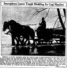 article Derrydale farm in the snow 1939