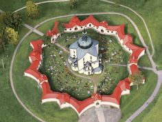 Pilgrimage Church of St John of Nepomuk at Zelená Hora, South Moravian Region, Czech Republic. Inscription in Criteria: (iv) Its A Wonderful Life, Wonderful Places, Medieval Town, Historical Architecture, Place Of Worship, Eastern Europe, Pilgrimage, World Heritage Sites, Czech Republic