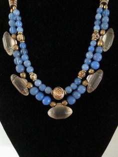Antique Burmese Glass Beads Pumtek and Bohemian by GEMILAJewels, $235.00