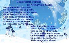 Poezie - Craciunul copiilor de Octavian Goga
