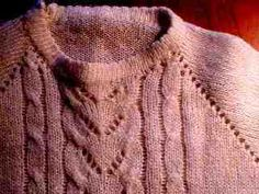 How to create machine knit garment patterns