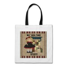 My Quilting Tote bag