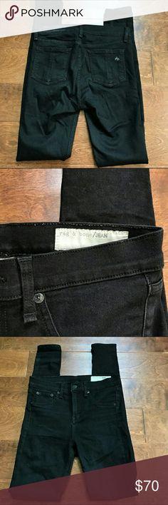 High rise rag and bone legging jeans Super flattering skinny skinny hi-rise legging style jeans from rag and bone rag & bone Jeans Skinny