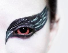 Black swan eye makeup