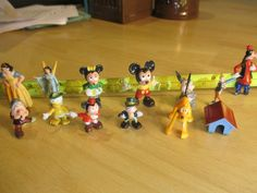 Lot Vintage Walt Disney Productions Disneykin Miniature Figurines Marx Hong Kong | eBay..