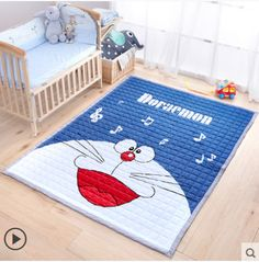 Carpet Humble New Hot Sale Kid Soft Delicate Pure Cotton Carpet For Children Climb Sleeping Play Rug Home Floor Kid Room Helthy Floor Mat