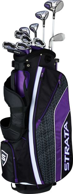 online shopping for Callaway Women's Strata Ultimate Complete Golf Set Right Hand) from top store. See new offer for Callaway Women's Strata Ultimate Complete Golf Set Right Hand) Mens Golf Clubs, Golf Clubs For Sale, Used Golf Clubs, Best Golf Club Sets, Best Club, Golf Stand Bags, Golf Bags, Callaway Strata, Dubai Golf