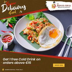 Unlock great deals as you order online. Authentic Oriental flavours served best for you. . . . . #SafetyFirst #OnlineOrder #FreeDelivery #Thai #ThaiFoods #ThaiDishes #Cuisines #FoodPorn #Foodie #ThaiCuisine #Restaurant #Yummy #Delicious #ThaiFoodLover #FoodLovers #FoodBlogger #SeaFood #ThaiRestaurant #RoyalThai #HygienicEnvironment Best Thai Restaurant, Authentic Thai Food, Thai Dishes, Thai Recipes, Cold Drinks, Amsterdam, Seafood, Oriental, Food Porn