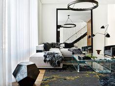 Scandinavian Living Room in Chicago
