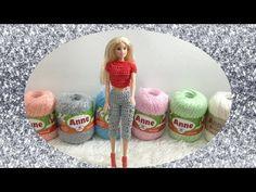 Moda Barbie Crochê Aula nº 03 Bermuda Capri Rendada - YouTube