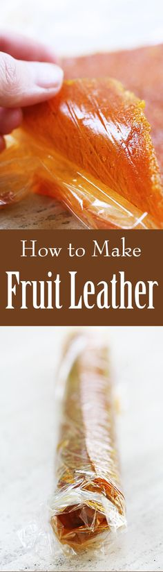 Learn how to make Fruit Leather! It's so easy, and a great way to make a healthy snack with almost any kind of fruit. Get the step by step guide on SimplyRecipes.com